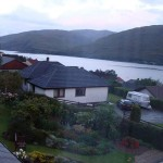 View from Window of my room @ Fort William when I stayed with Alan & Denise Kirk