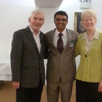 Me with John and Marjory Brown