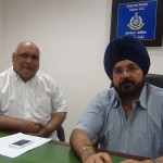 Atulkumar Sanghvi, Trustee of Bolbala Traffic Education Trust with H P Singh