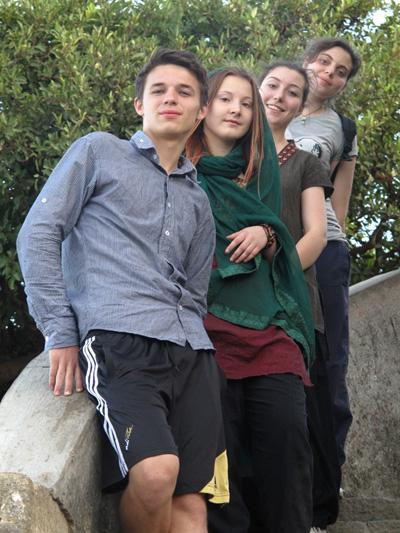 Snapshot of their trip to Mount Girnar