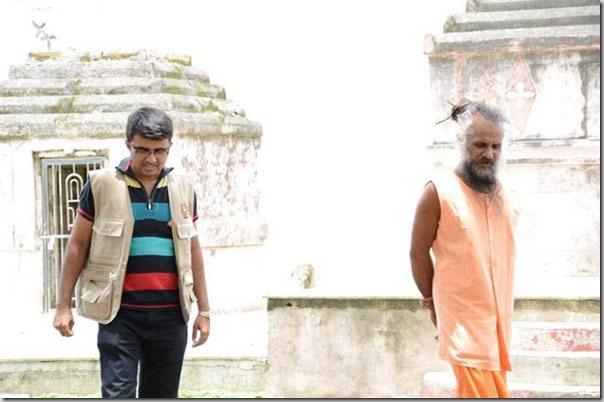 devang vibhakar with ishwarbharthi bapu