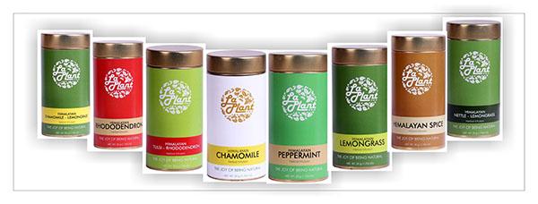 LaPlant Himalayan Herbal infusion range