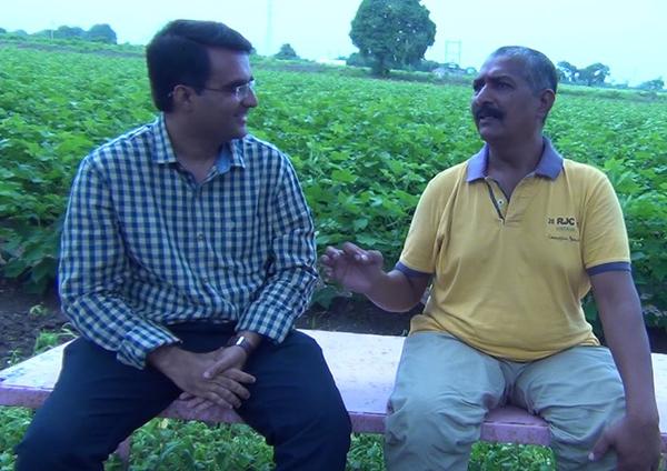 L to R: Devang Vibhakar, Jagatsinh Jadeja