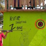 Devang Vibhakar at Rifle Shooting Zone DNK Organic Farm