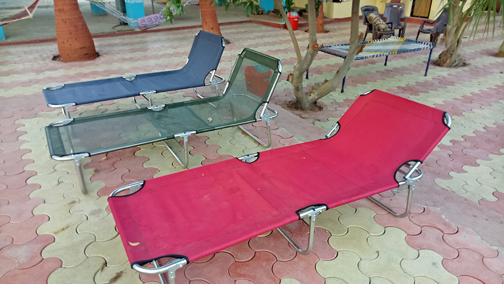 Pool side facility