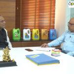 Naynesh Parekh (ASCENT Advertising) interviewing Shri Suresh Kaneriya, Chairman – Kaneriya Industries