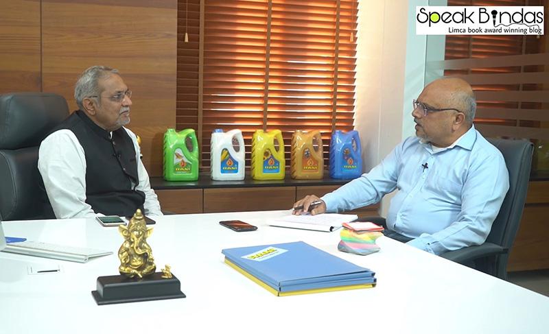 Naynesh Parekh (ASCENT Advertising) interviewing Shri Suresh Kaneriya, Chairman - Kaneriya Industries